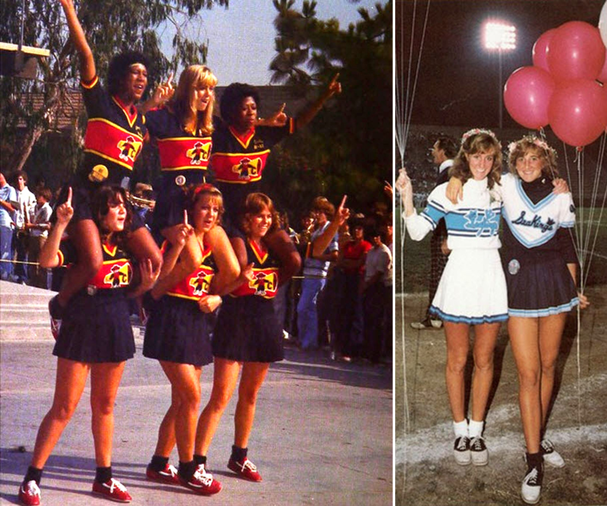 vintage cheerleaders (2)