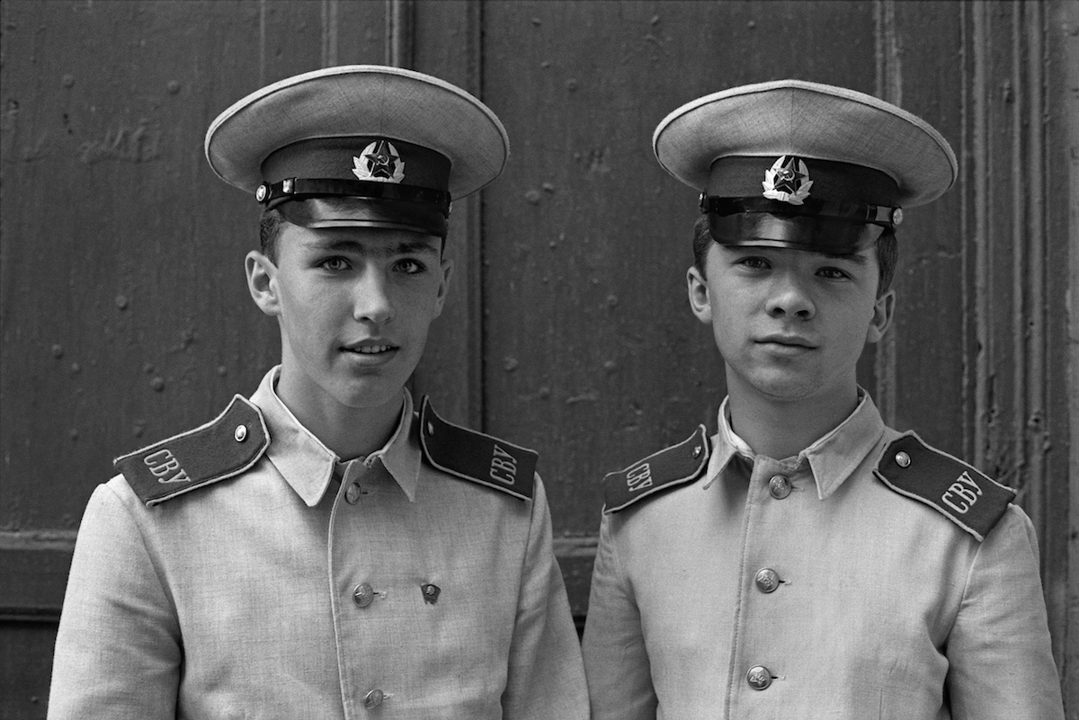Suvorov army cadets moscow 1980s