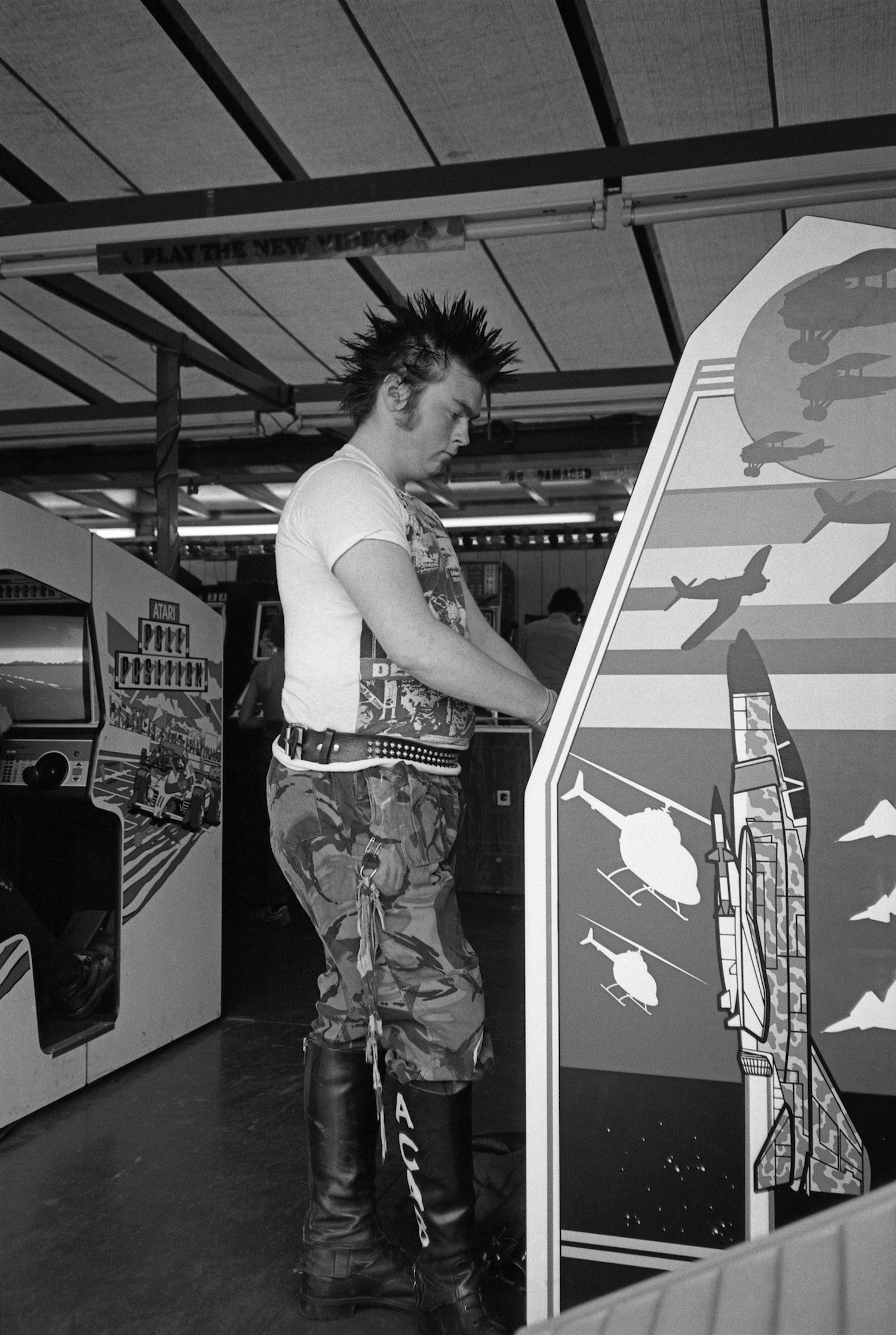 punk Richmond funfair - 1980s