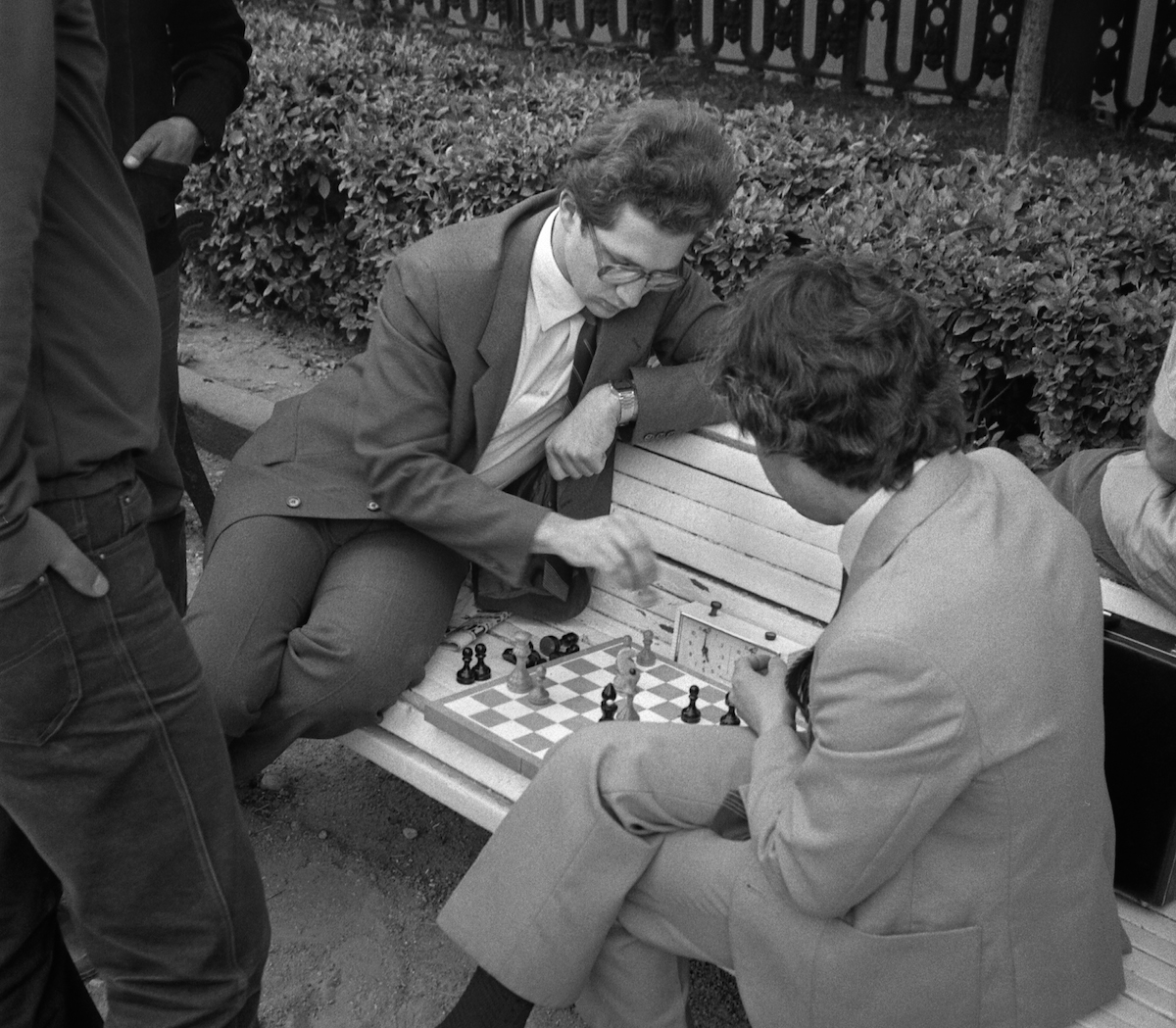 Moscow 1980s chess