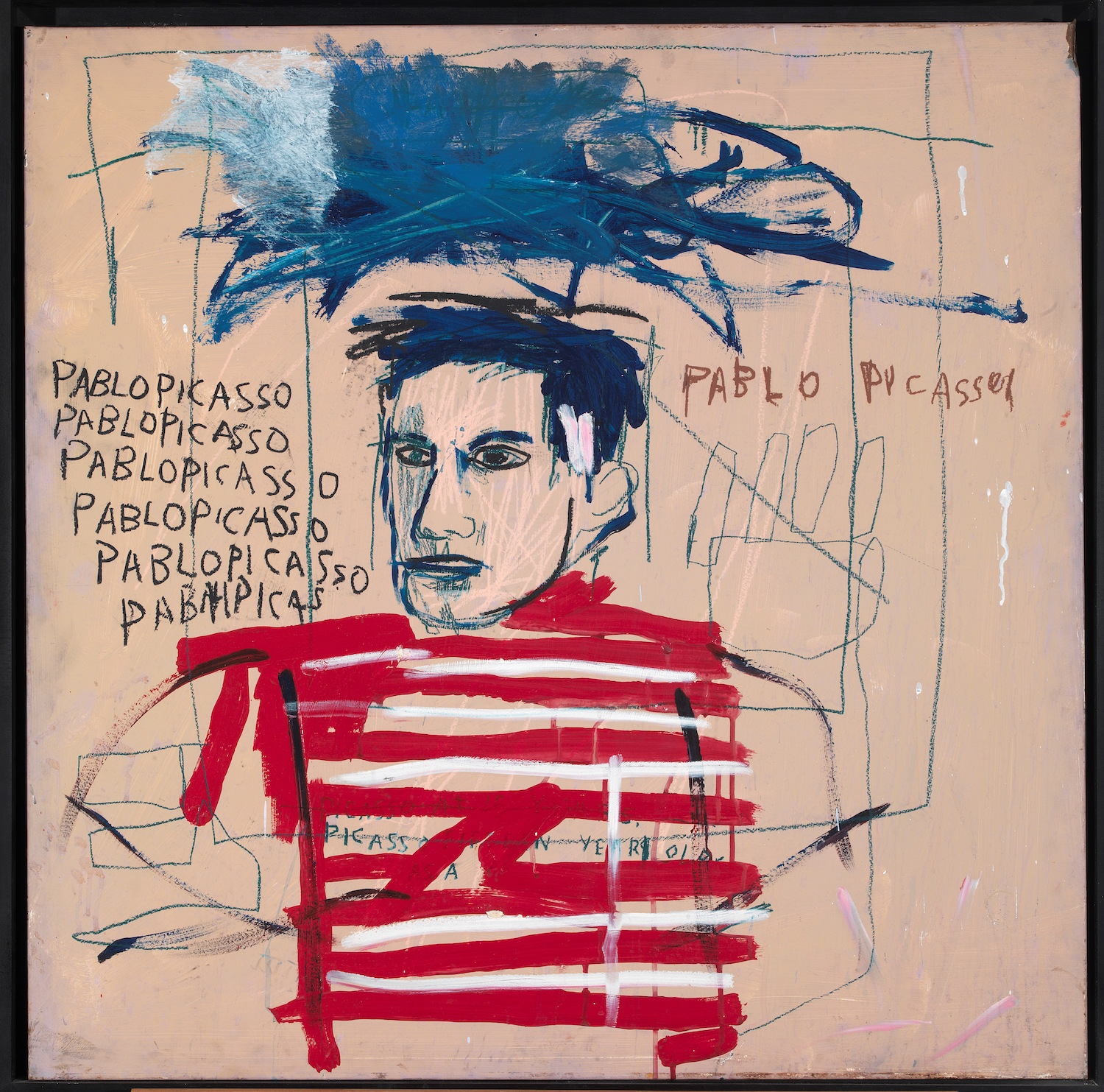 Jean-Michel Basquiat, Untitled (Pablo Picasso), 1984, Private collection