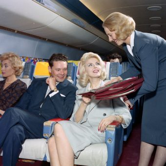 Living the Dream at 35,000 ft: Flying First Class in the 1960s