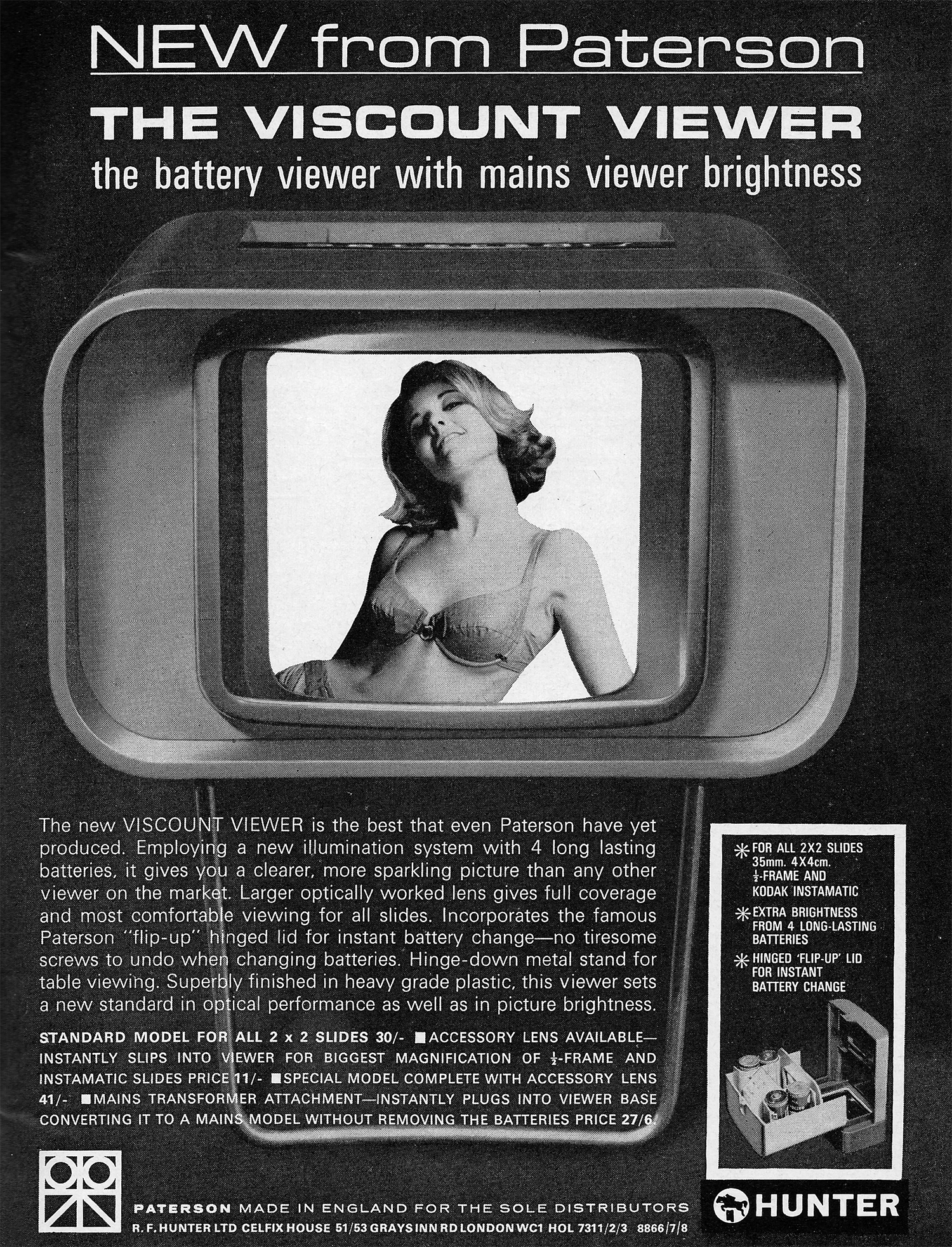 1965 viscount viewer ad