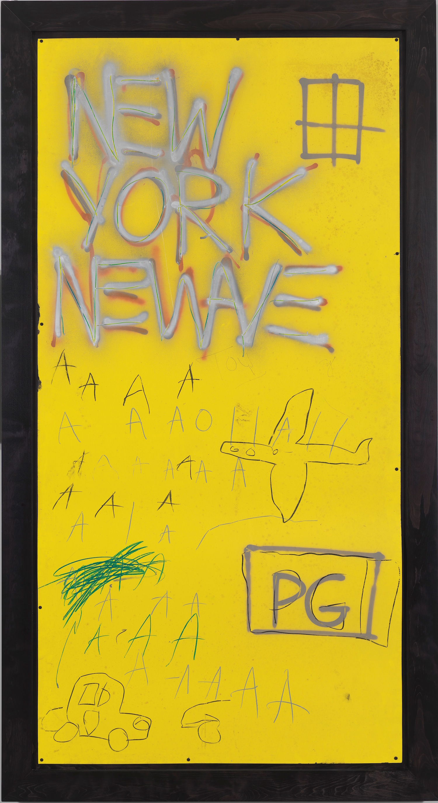 Jean-Michel Basquiat Untitled, 1980 Courtesy Whitney Museum of American Art, New York. © The Estate of Jean-Michel Basquiat/ Artists Rights Society (ARS), New York/ ADAGP, Paris. Licensed by Artestar, New York.