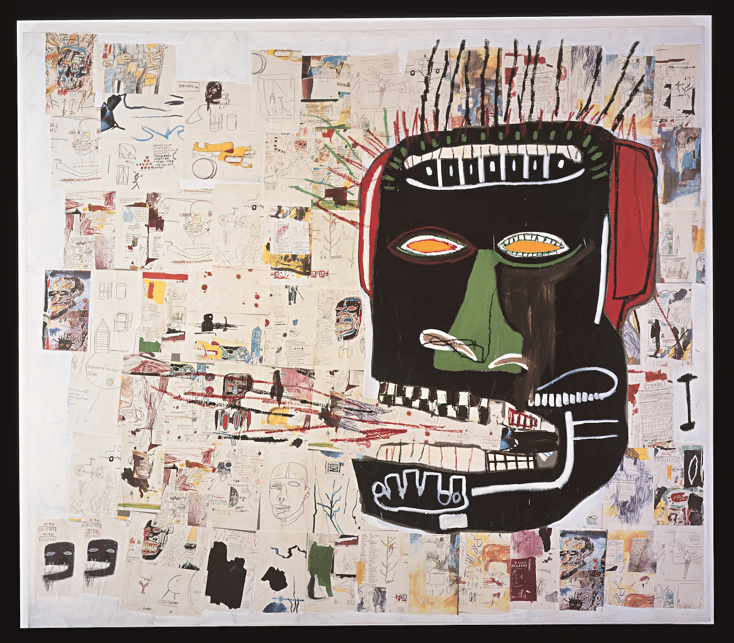 an-Michel Basquiat, Glenn, 1984 Courtesy Private Collection