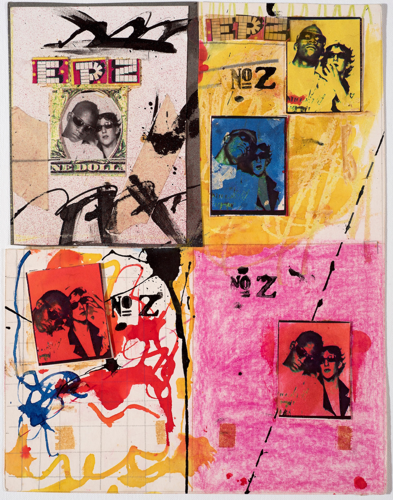 Jean-Michel Basquiat and Jennifer Stein, Anti Baseball Card Product, 1979, Courtesy Jennifer Von Holstein