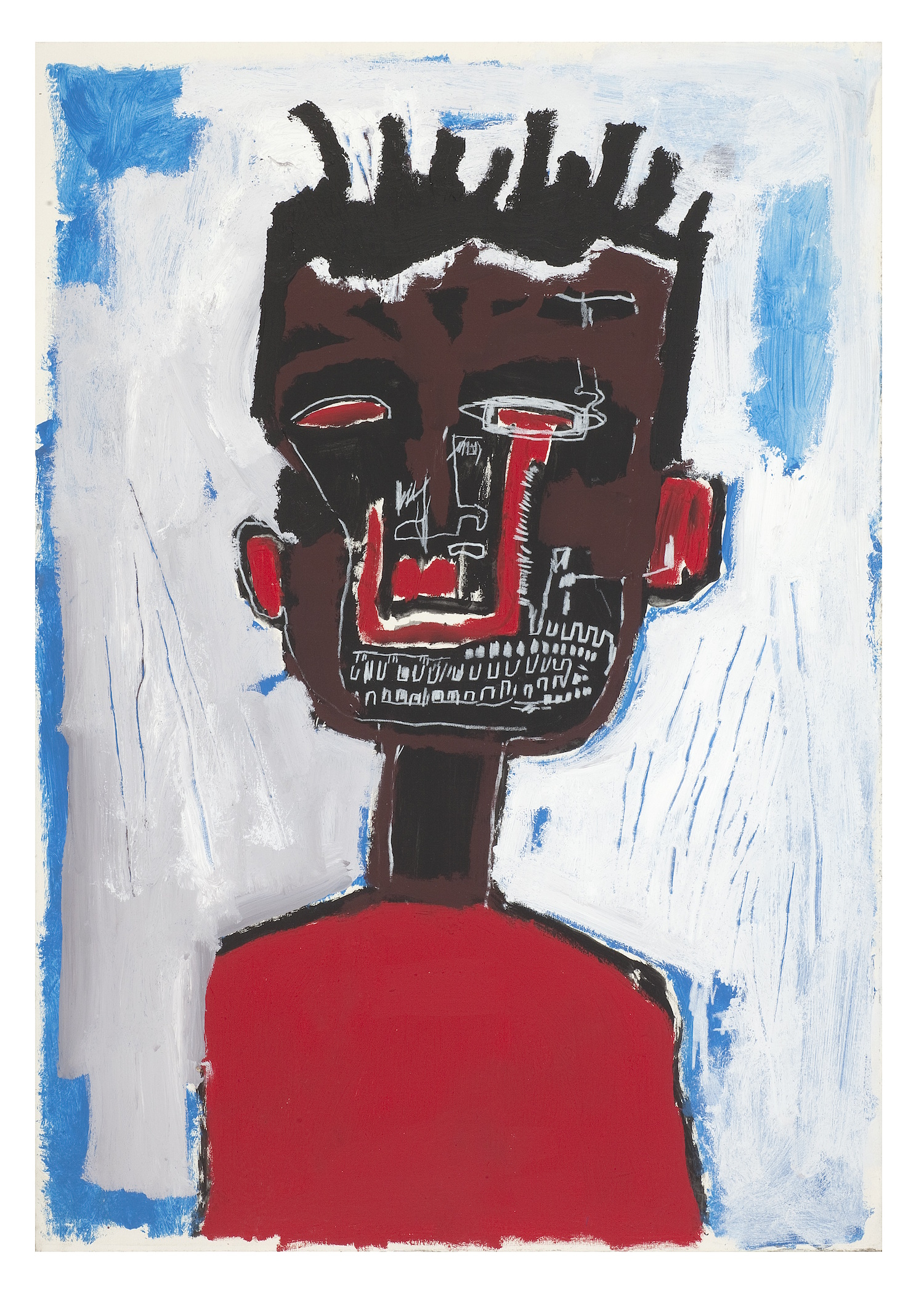 Jean-Michel Basquiat, Self Portrait, 1984, Private collection