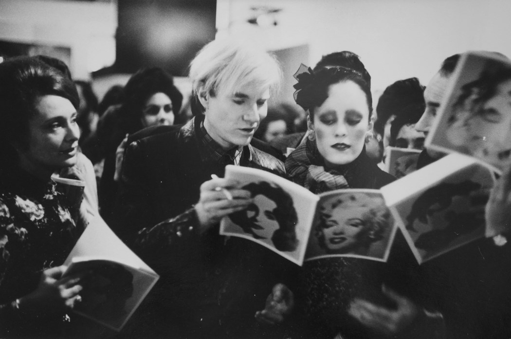 Andy Warhol, TATE Gallery London, 1971 © Neil Libbert. Courtesy of Michael Hoppen Gallery