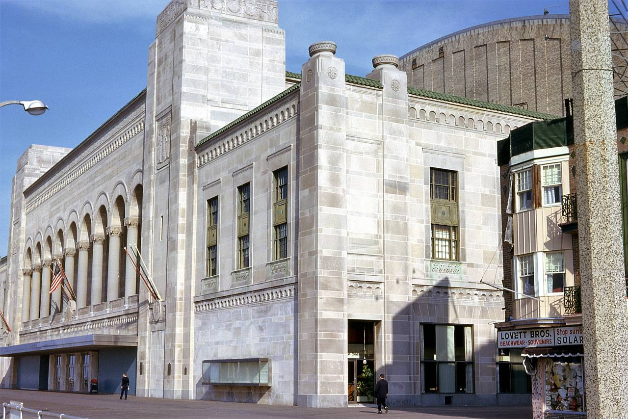 Boardwalk Hall, Atlantic City, New Jersey 1962