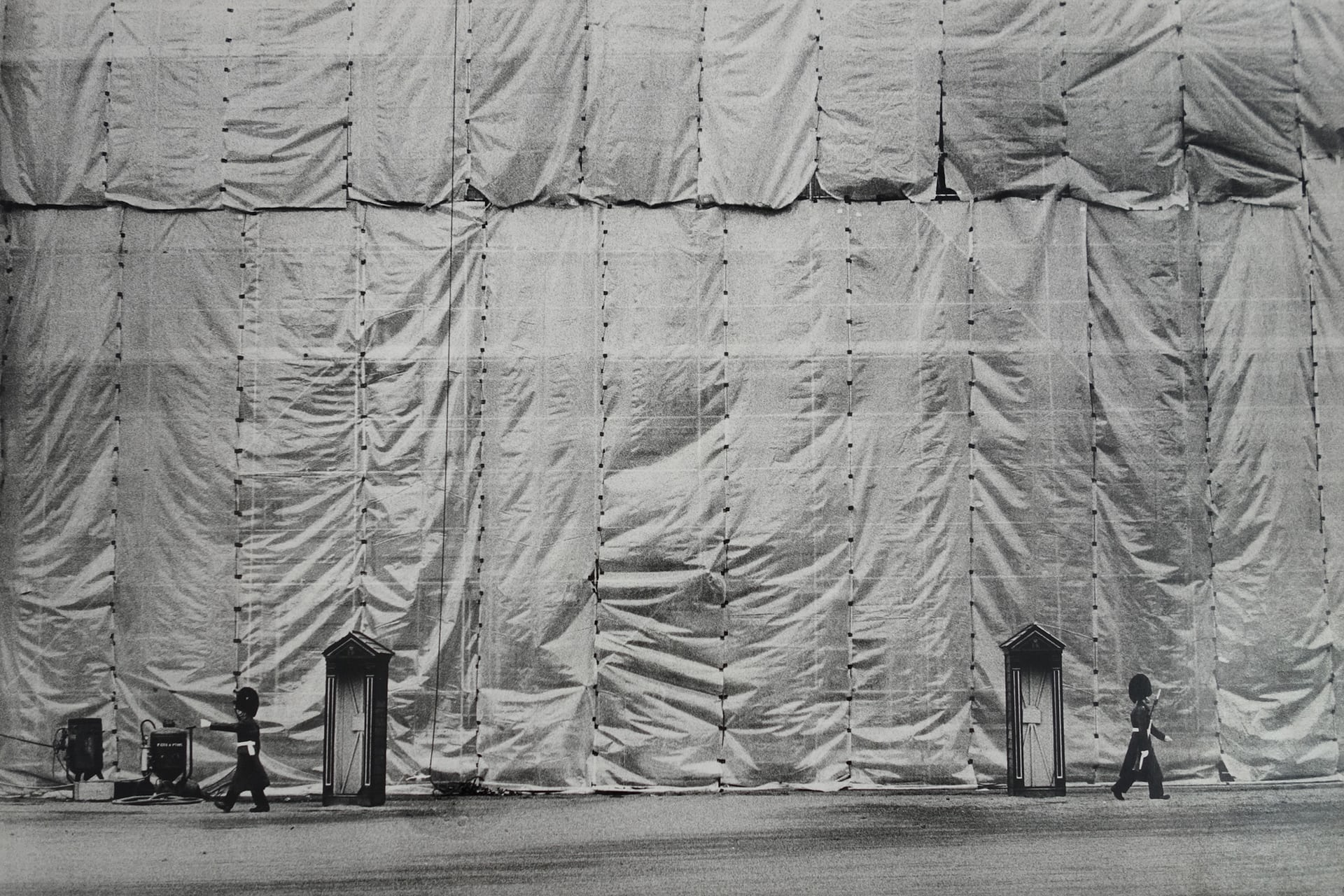 Buckingham Palace Facade, London, 1970