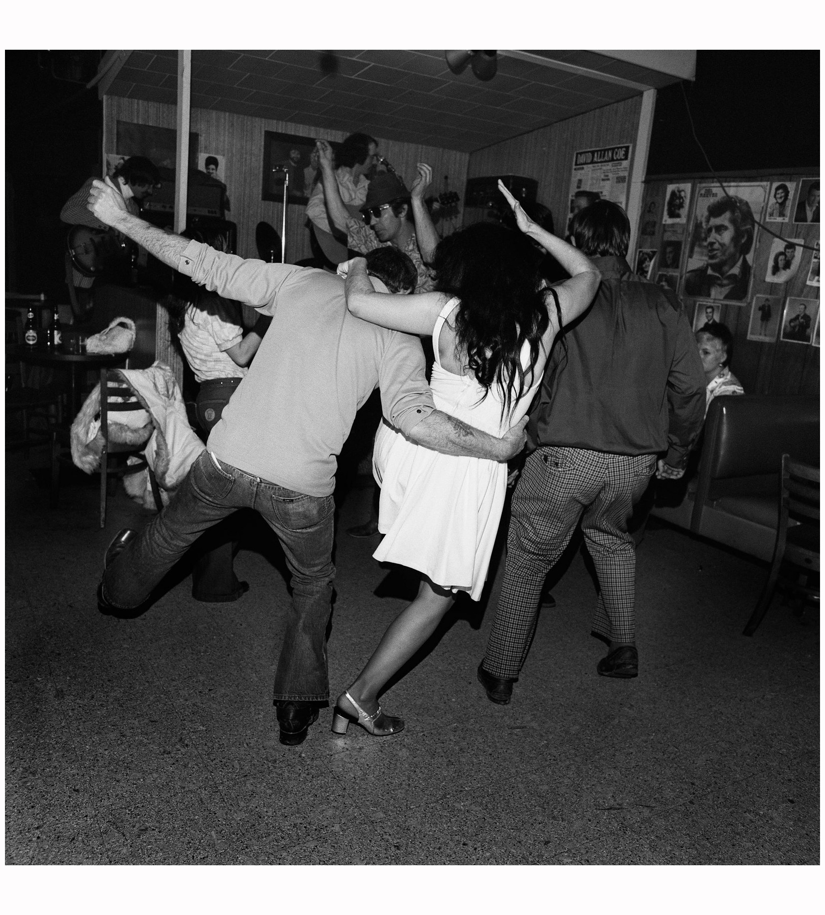 Drunk Dancers, Merchant's Cafe, Nashville, TN, 1974