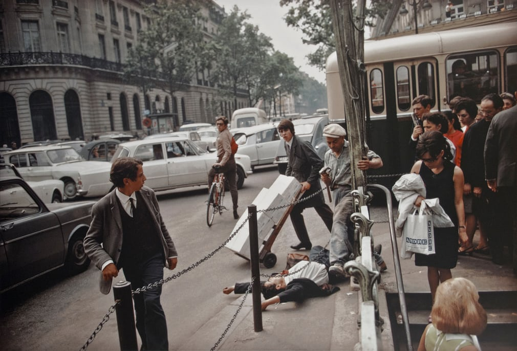 Fallen Man, Paris, 1967