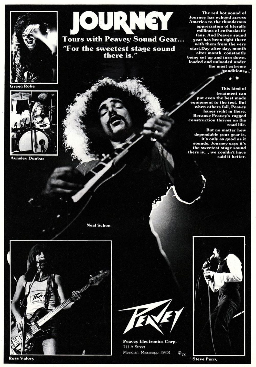 journey band advertisement