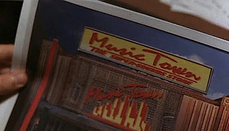 "In ""Empire Records,"" the predatory record chain was called Music Town, whose red-on-yellow logo was lifted from Tower's."