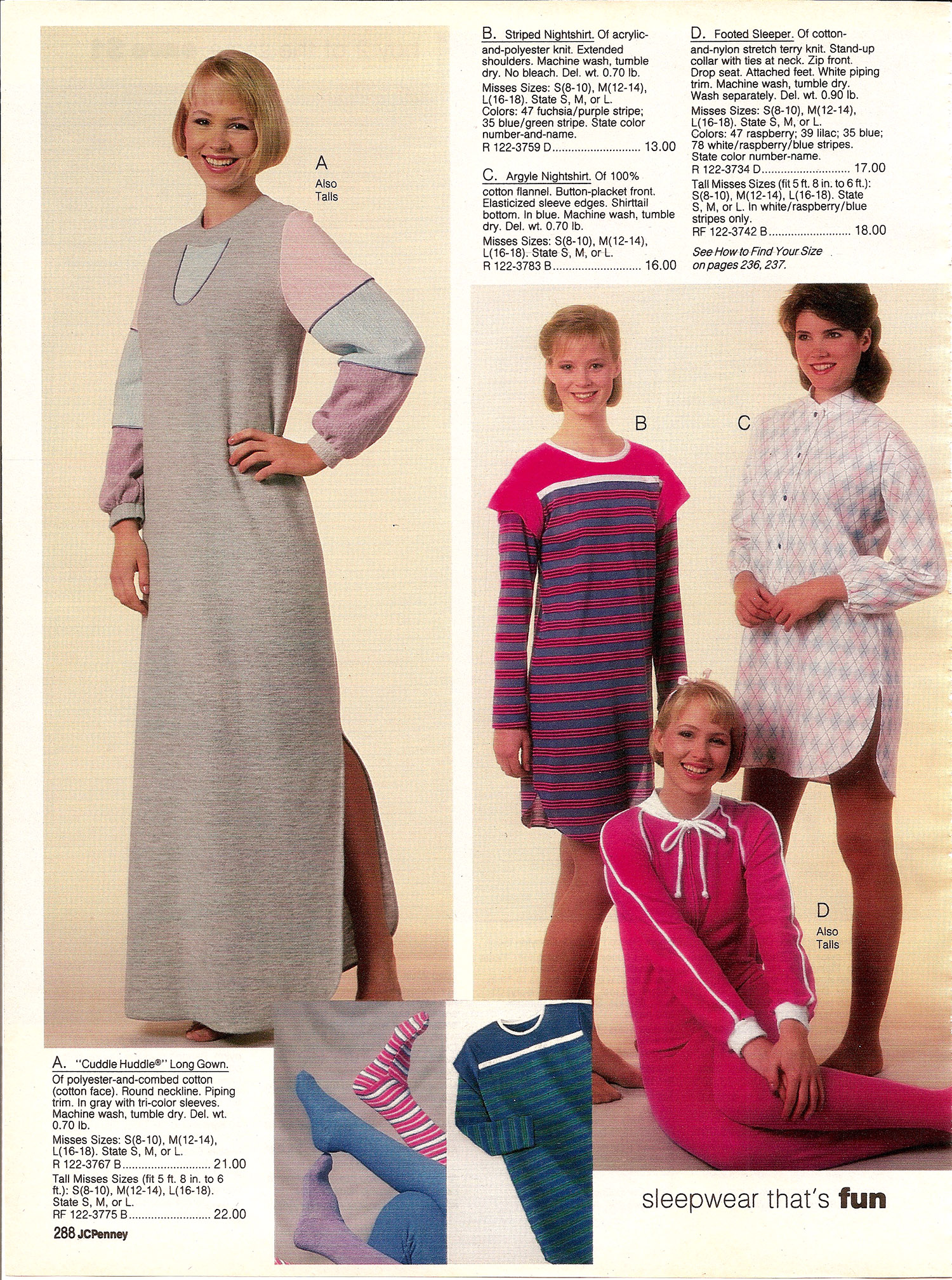 JC Penney Fall Winter 1984