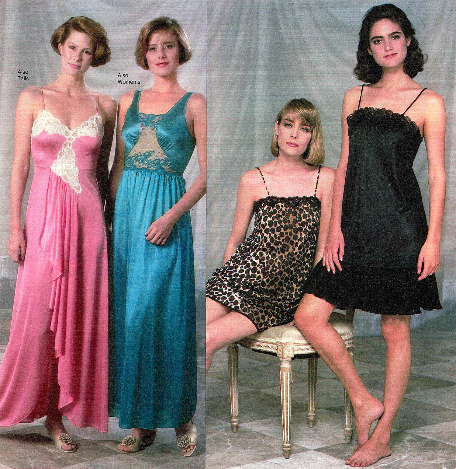 Frilly Nightgowns to Garfield Pajamas: 1980s Women's