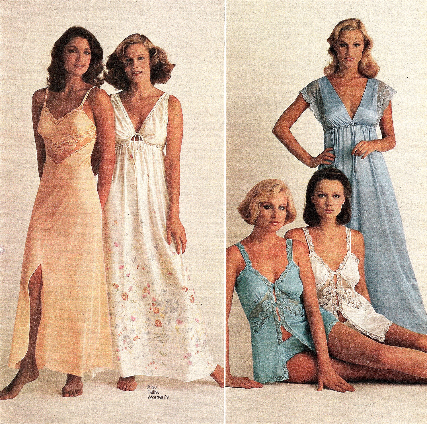 Frilly Nightgowns To Garfield Pajamas 1980s Women S