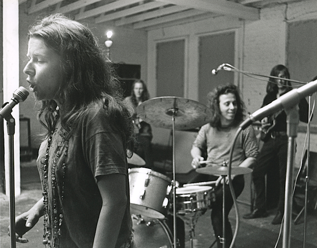 Janis Joplin playing Dave Getz