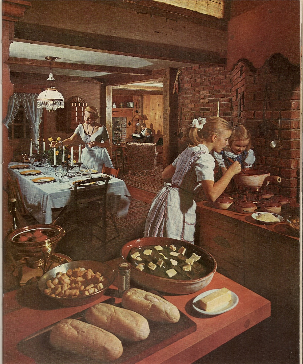 Waiting For Don Draper. Life Picture Cook Book, 1958