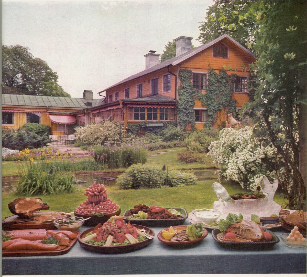 """Stallmastaregarden Restaurant, Stockholm, 1958... And now I know the true meaning of """"Stockholm Syndrome"""". Life Picture Cookbook"""