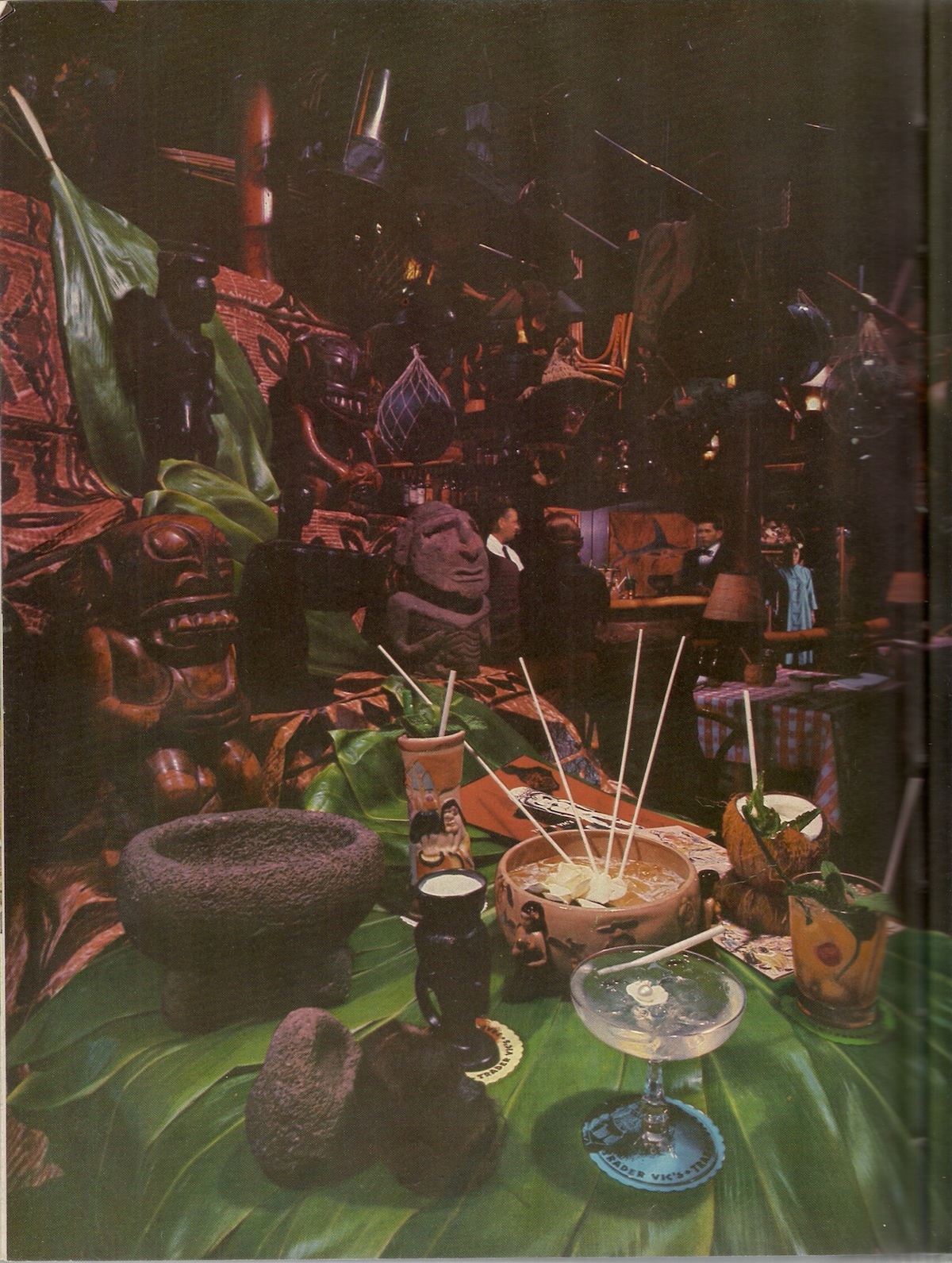 Trader Vic's, 1958 The San Francisco Tiki icon Life Picture Cookbook