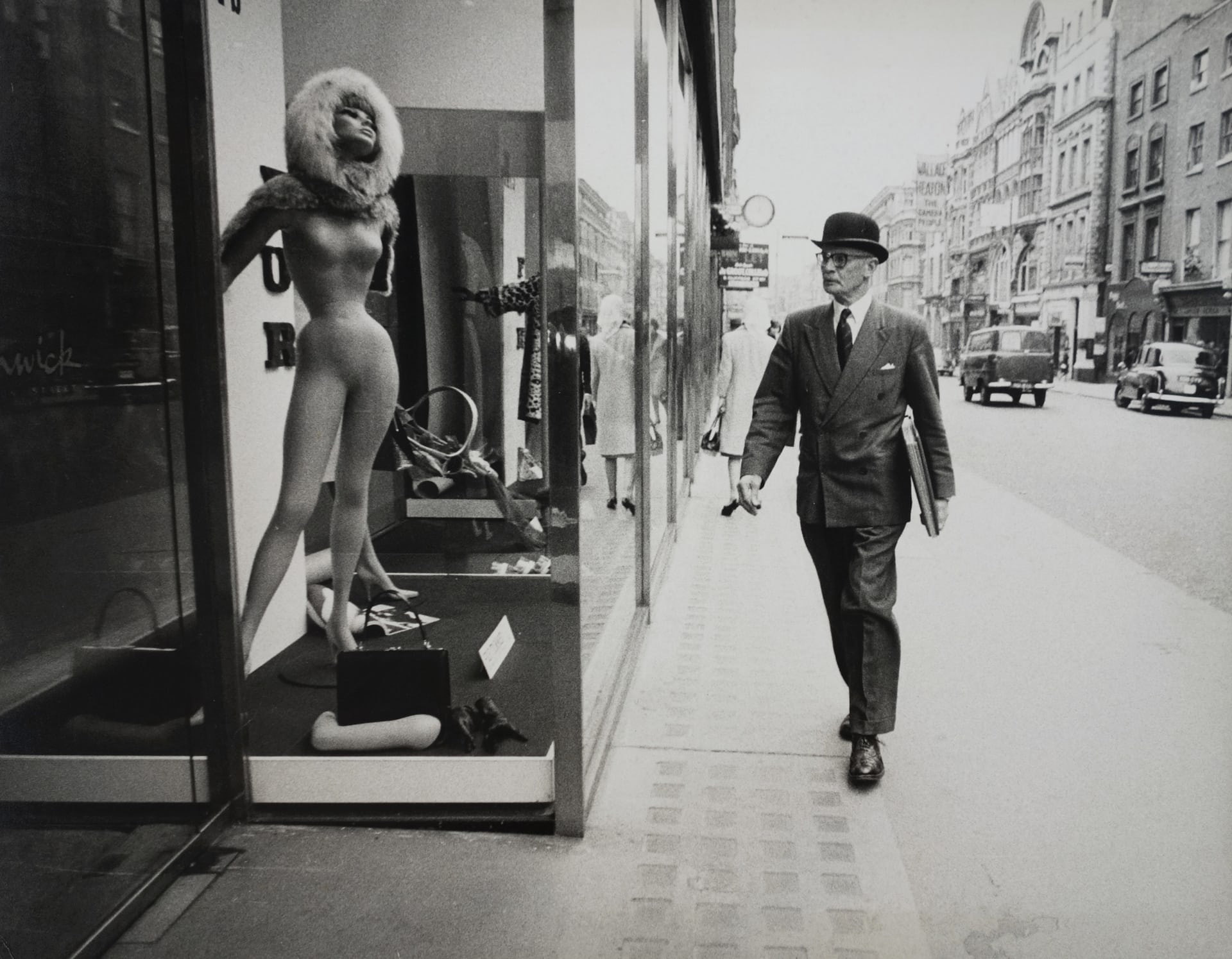 New Bond Street, London, 1964