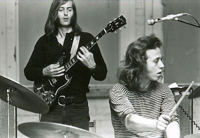 Sam Andrew (left) and Dave Getz.