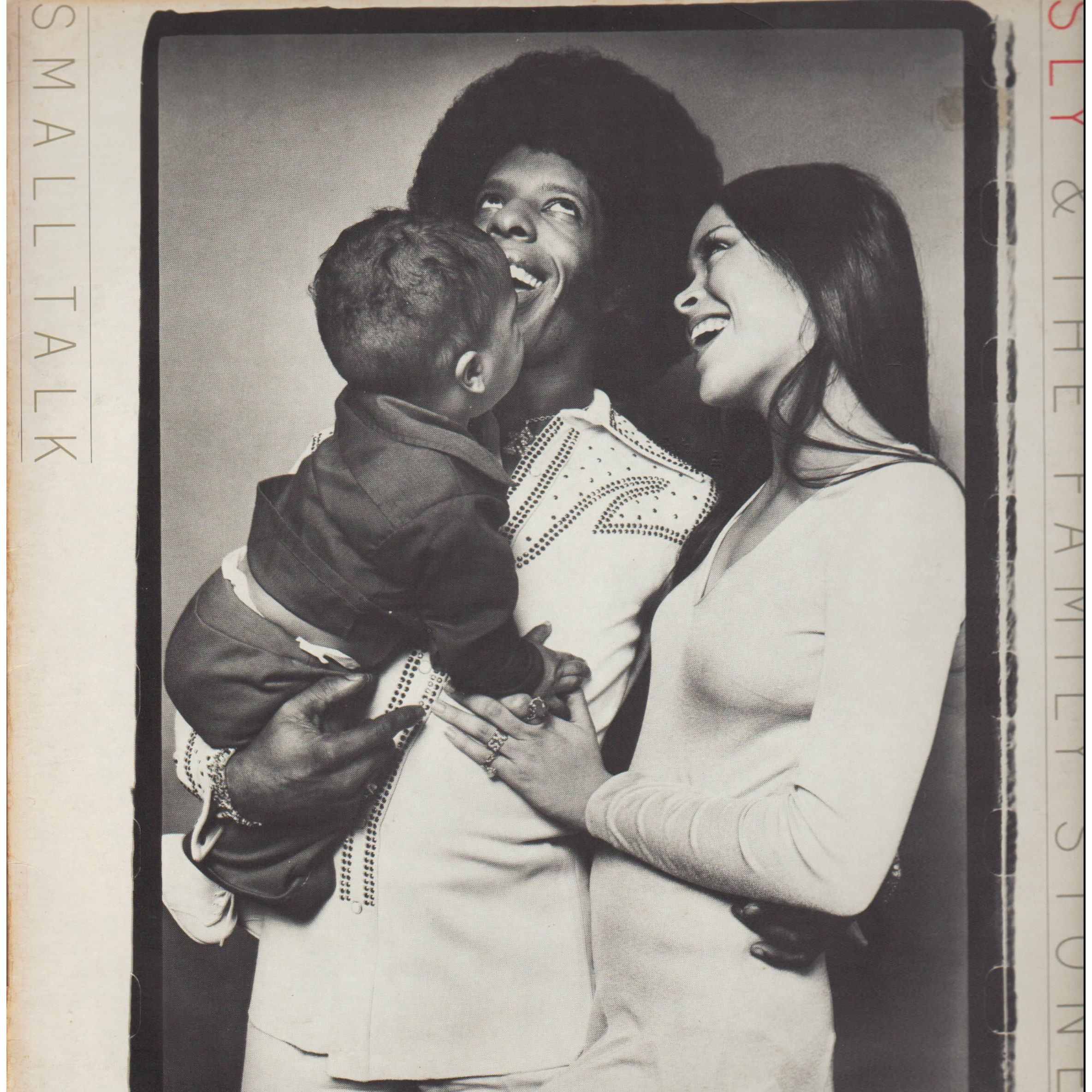 Sly Stone and Kathleen Silva Album: Sly and The Family Stone 'Small Talk'