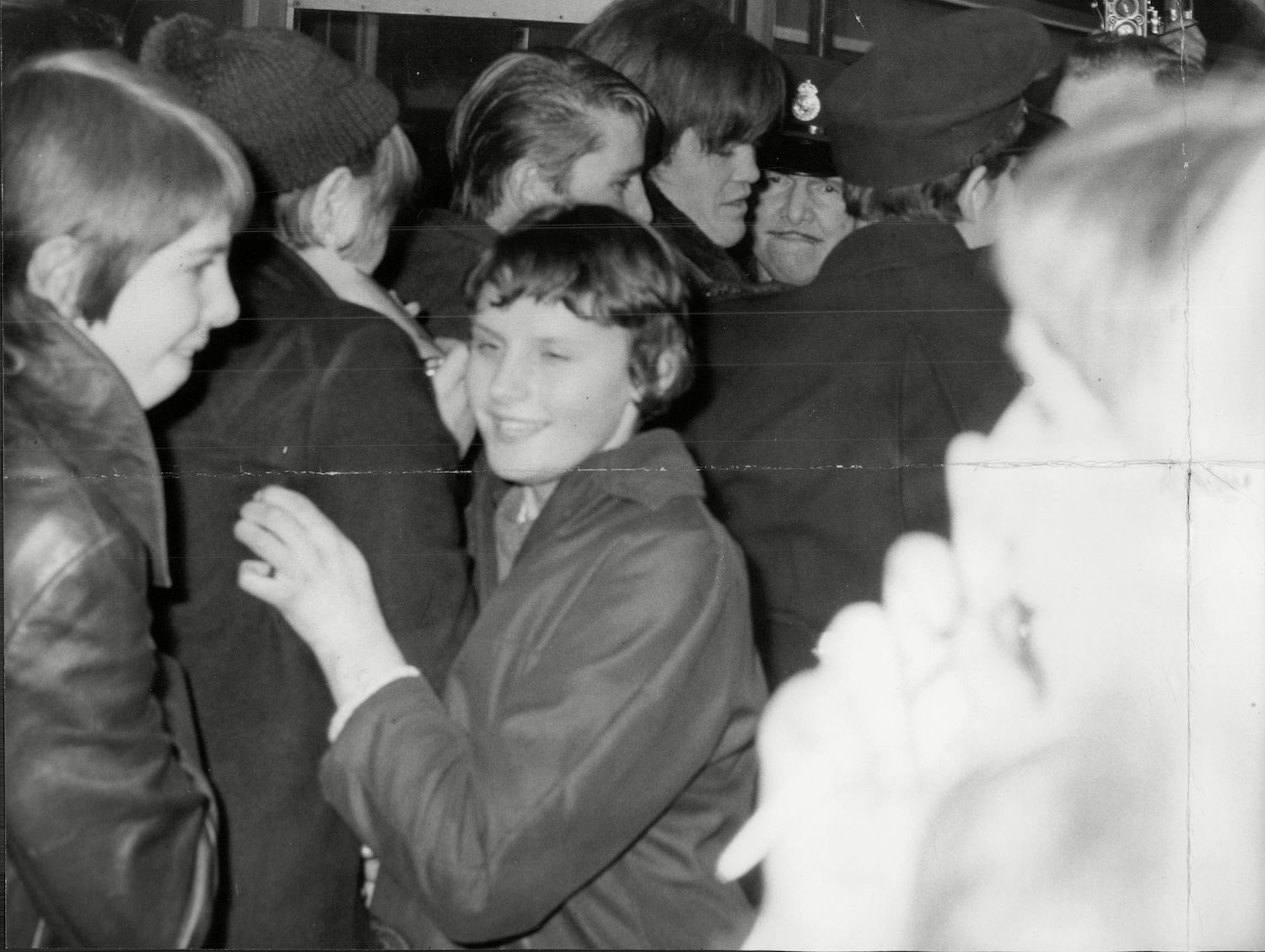 Micky Dolenz Of Pop Group The Monkees Mobbed At Heathrow Airport Micky Dolenz Of Pop Group The Monkees Mobbed At Heathrow Airport