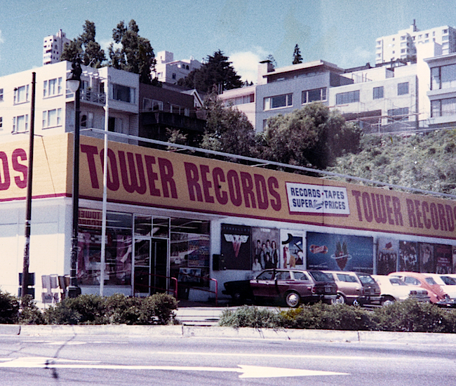 Tower REcords SF 1979