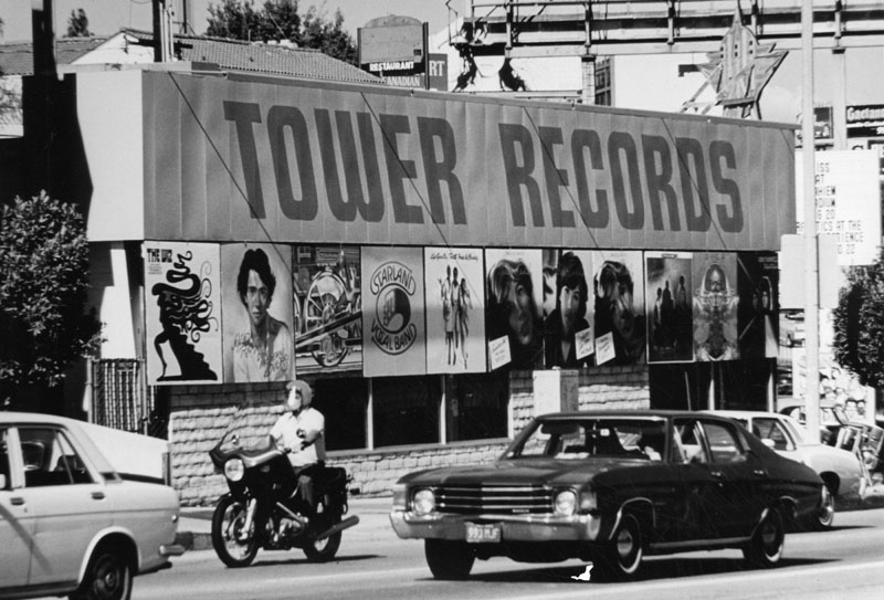 Tower Records LA