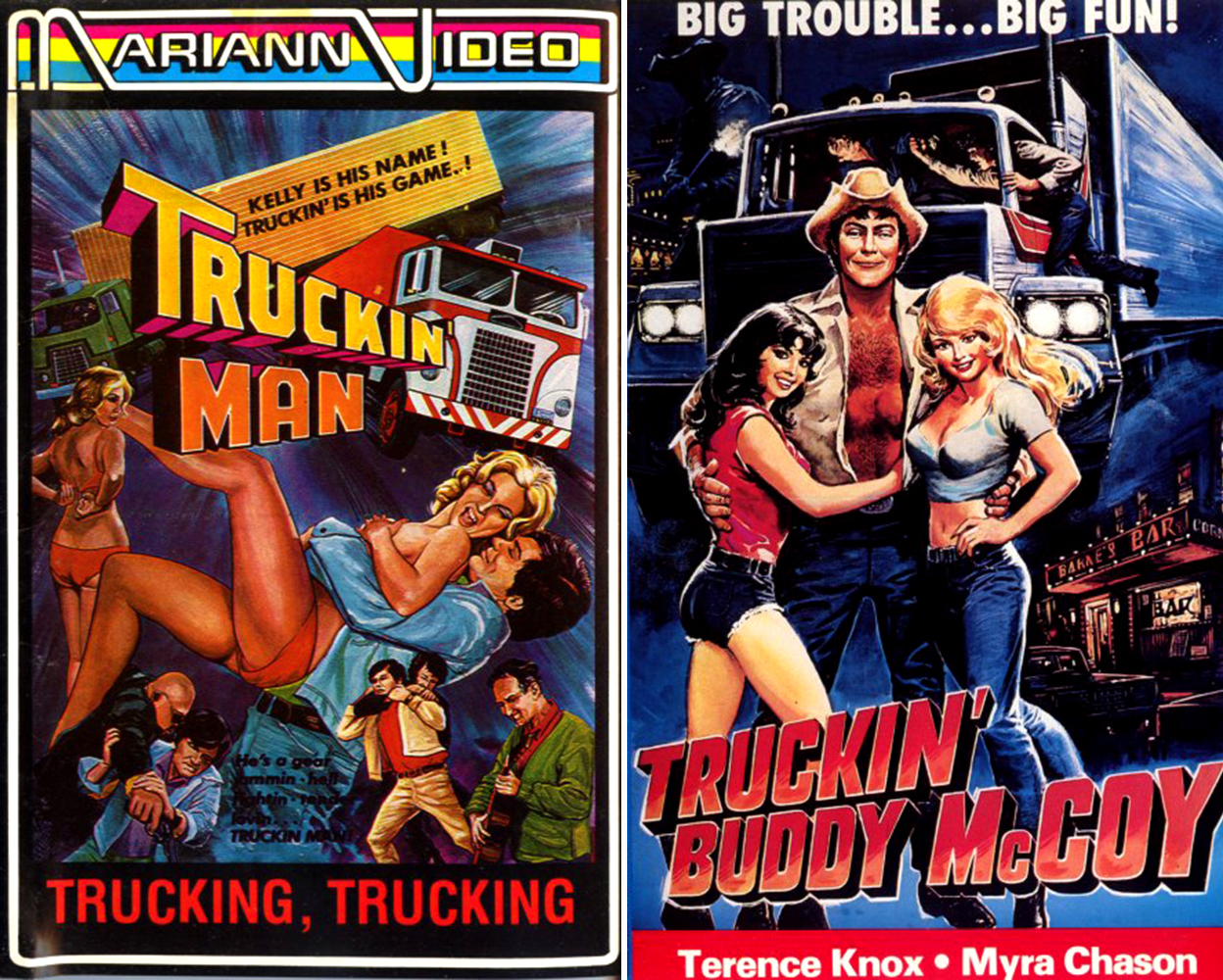 Trucking video cover art