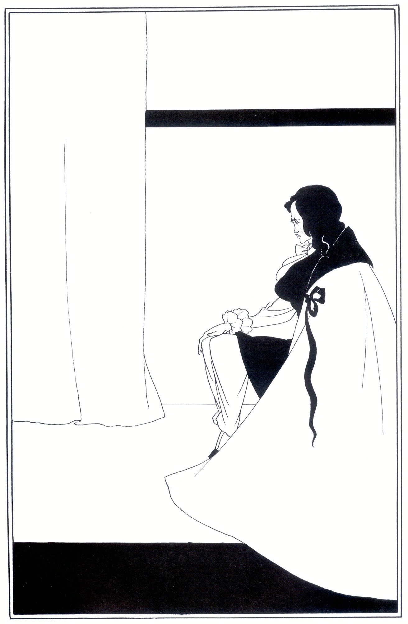 aubrey_beardsley_-_edgar_poe The Fall of the house of Usher