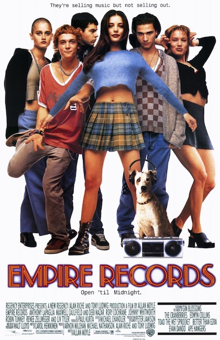 "The first draft of screenwriter Carol Heikkinen's script for the 1995 film ""Empire Records"" was supposed to take place in a Tower-like store, but the final movie made a Tower-like chain the enemy."