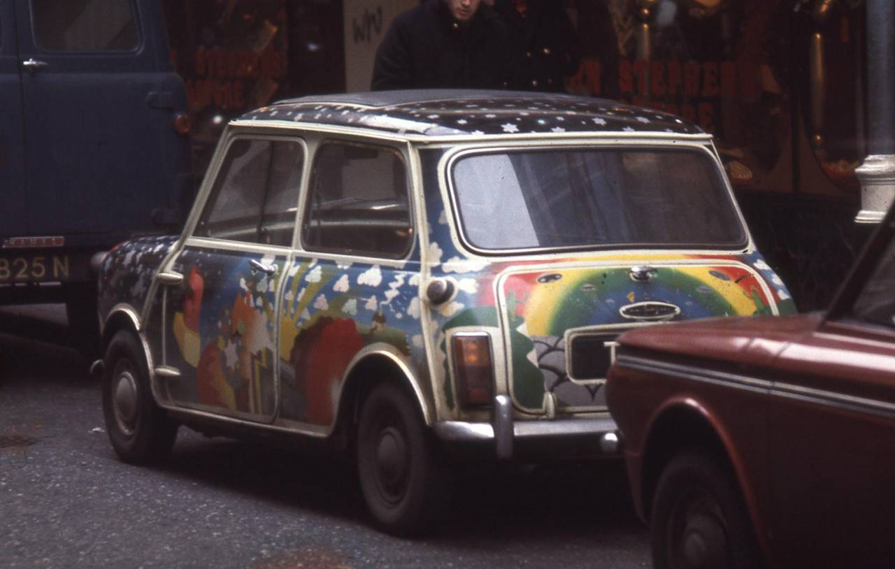 Mini in Carnaby Street, 1969