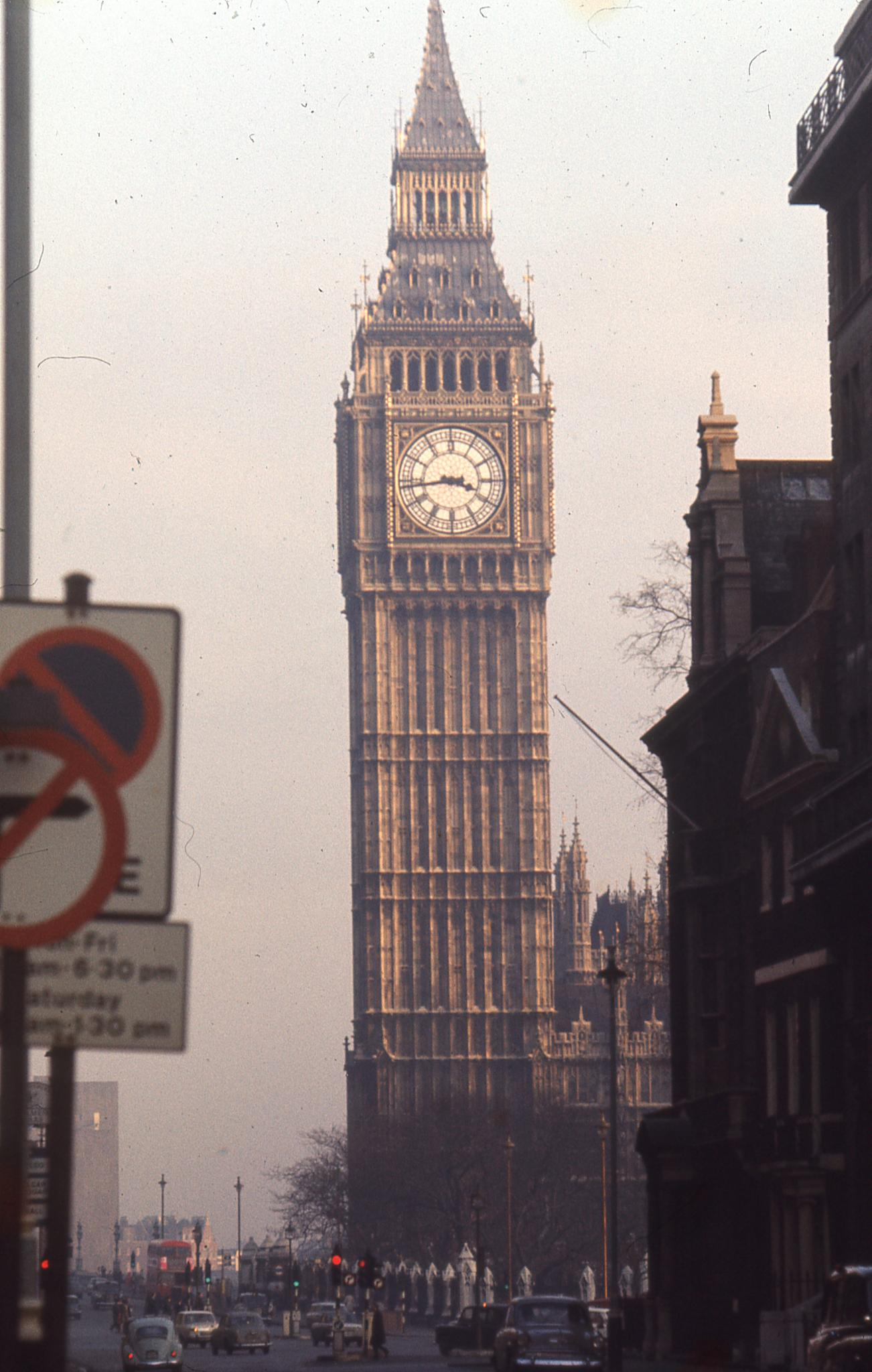 Palace of Westminster, 1969