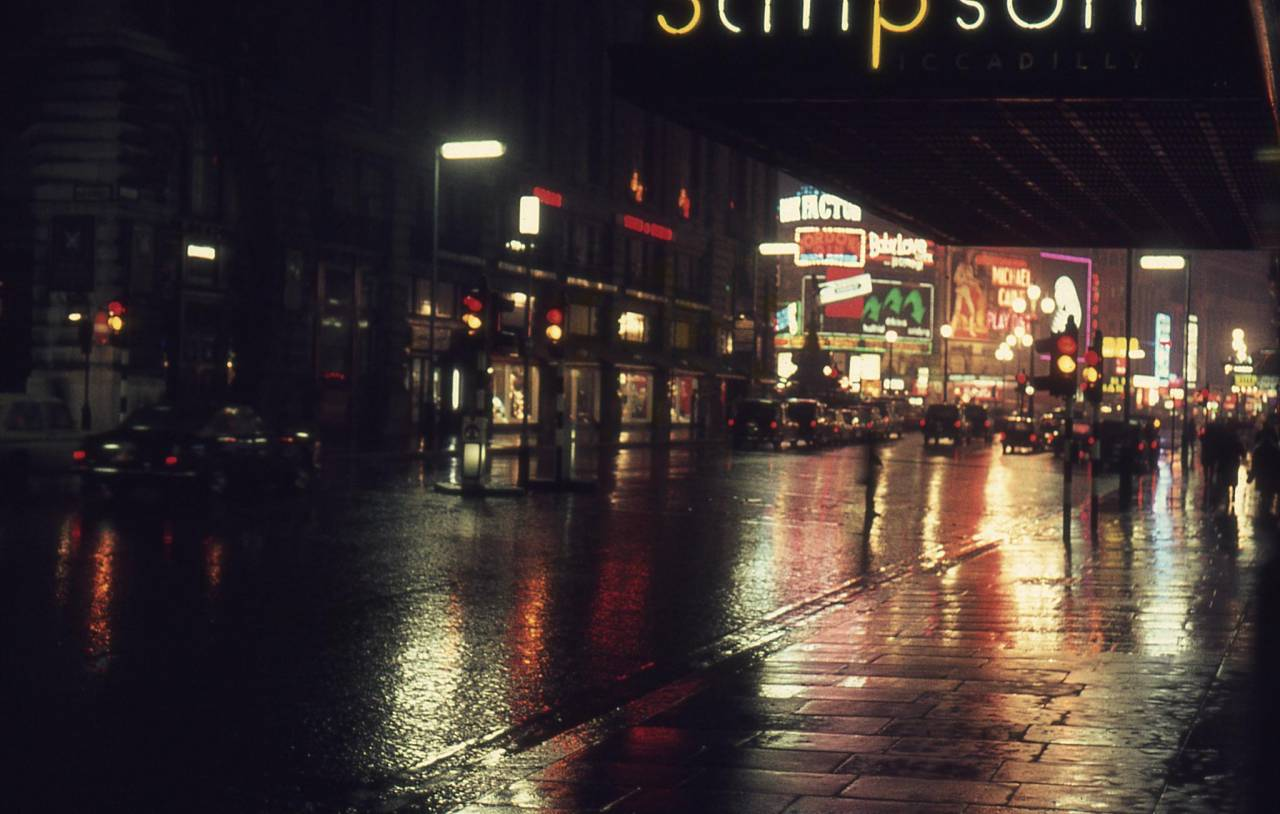 Piccadilly in 1969