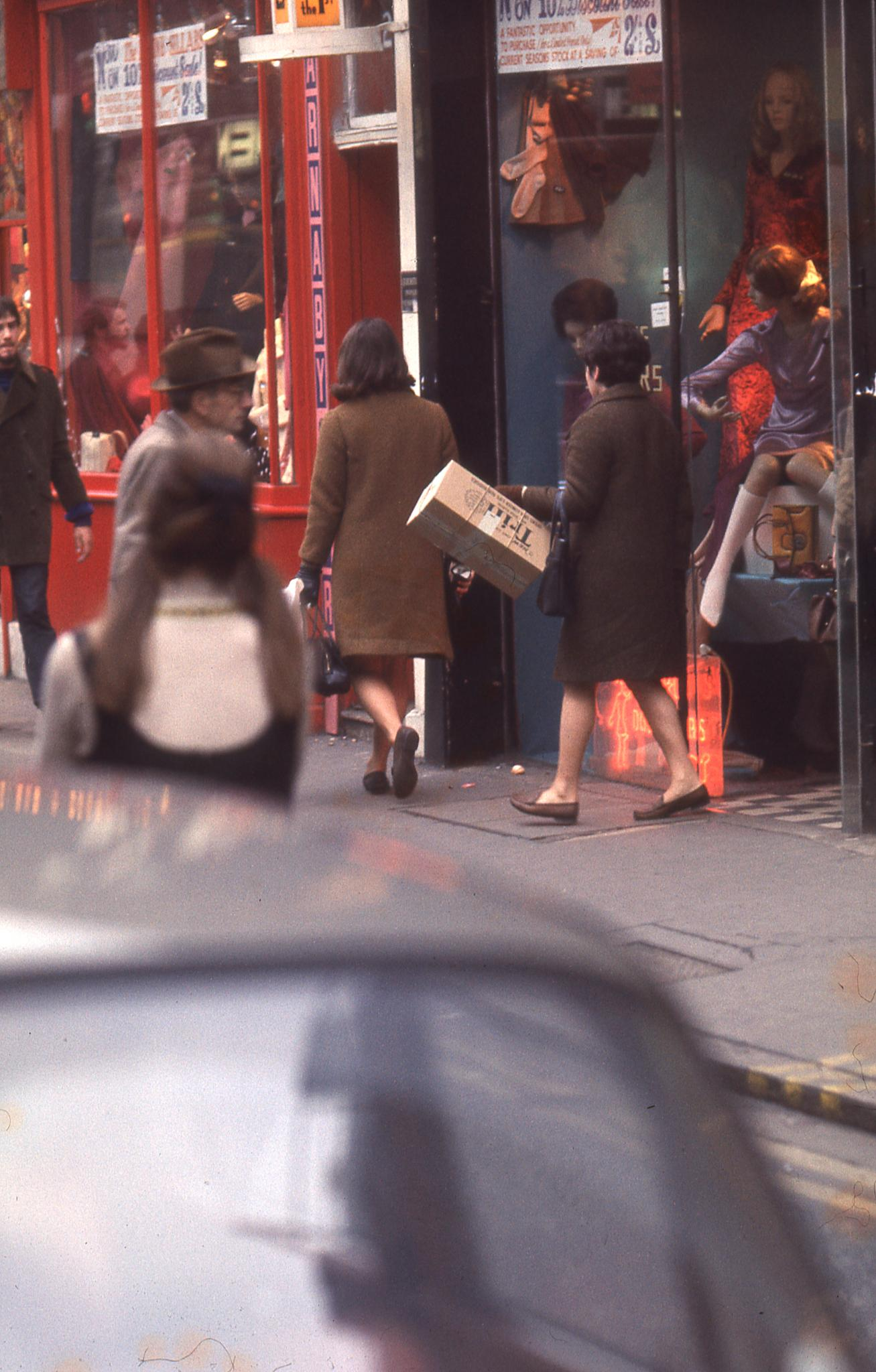 Carnaby Street in 1969