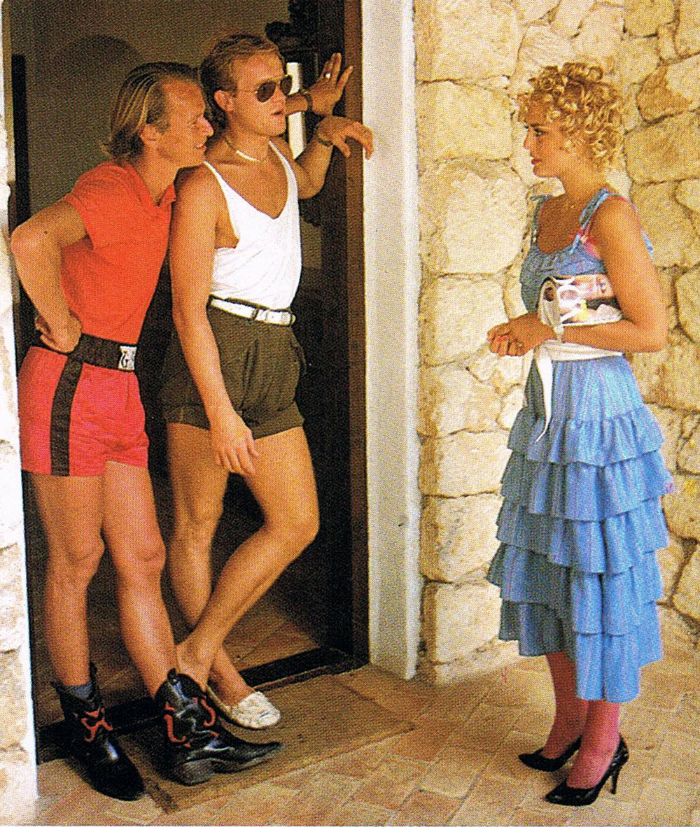 porn fashion 1980s