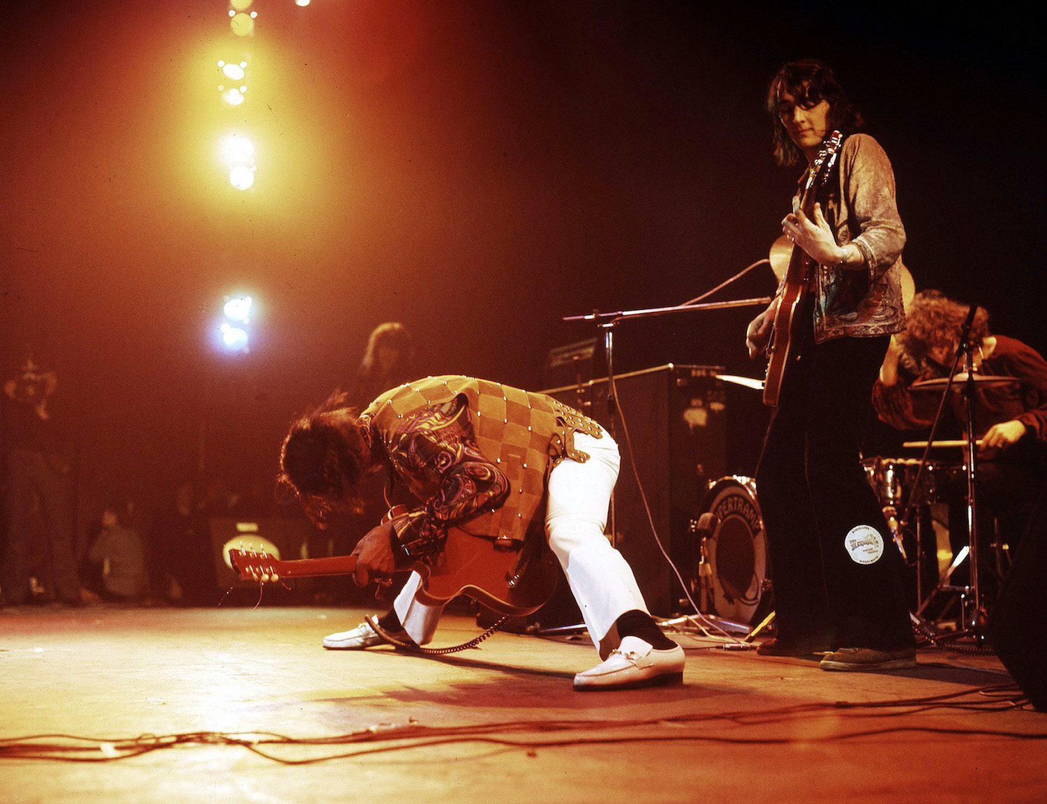 CHUCK BERRY IN CONCERT, LEWISHAM ODEON, LONDON, BRITAIN - 1973