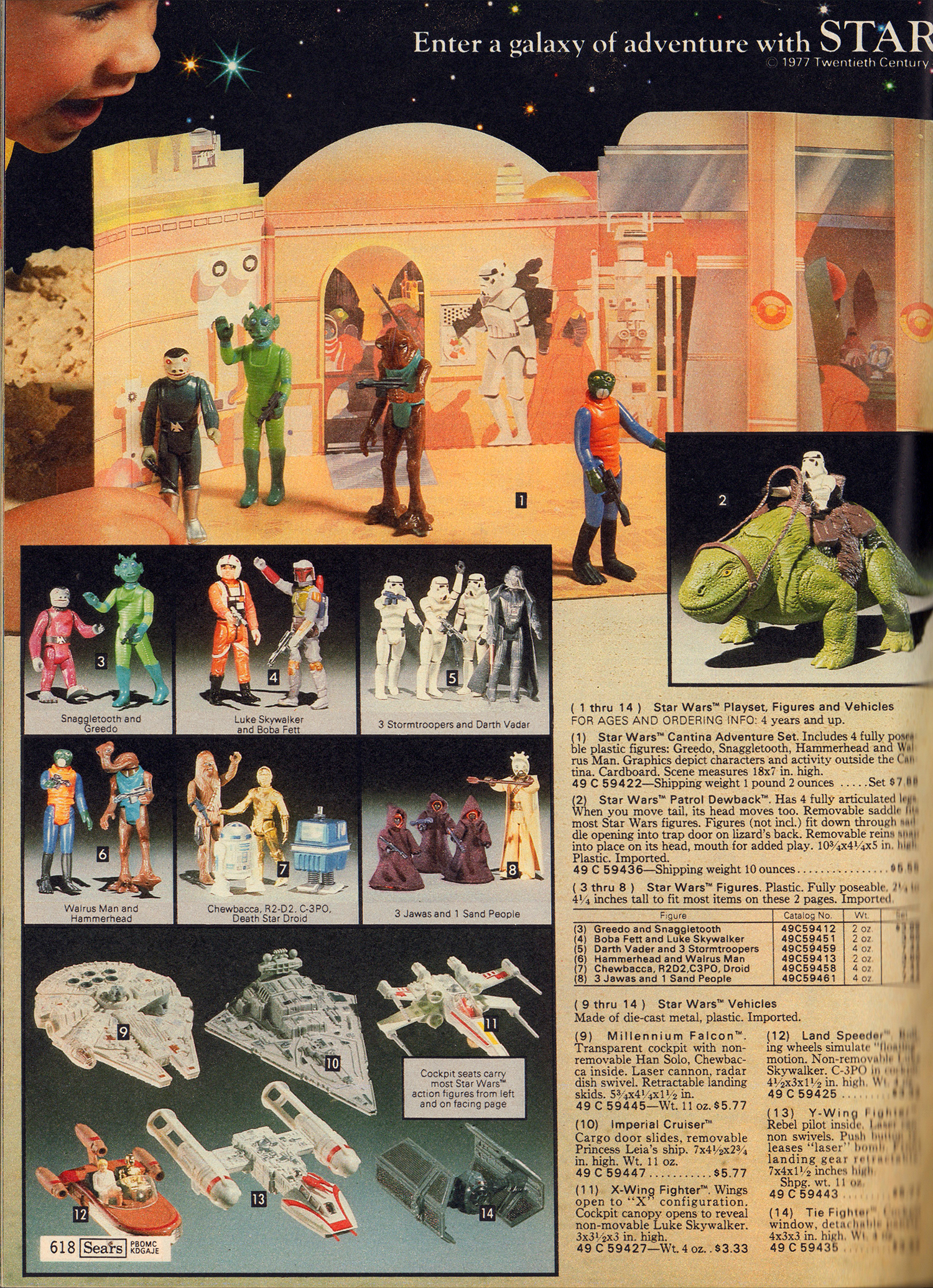 Star Wars Barbie And Spirograph Sears Catalog Stuff For