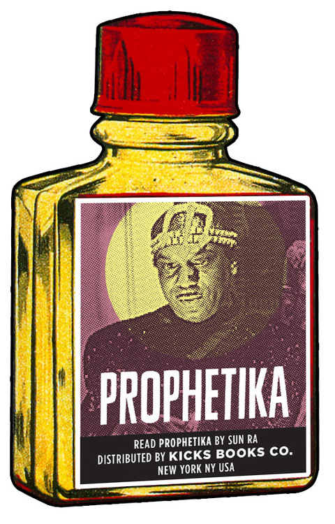 PROPHETIKA PERFUME FRAGRANCE by Sun Ra The ancient formula invokes a mirage of memories and mysteries and incites a call to action. Hints of Cairo and Chicago -- and Casseopia! Deluxe .5 oz Italian glass bottle in presentation box.