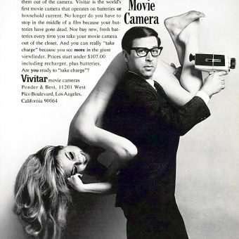 "Smile and Say ""Sleaze"": Sex Sells in Vintage Camera Advertising"