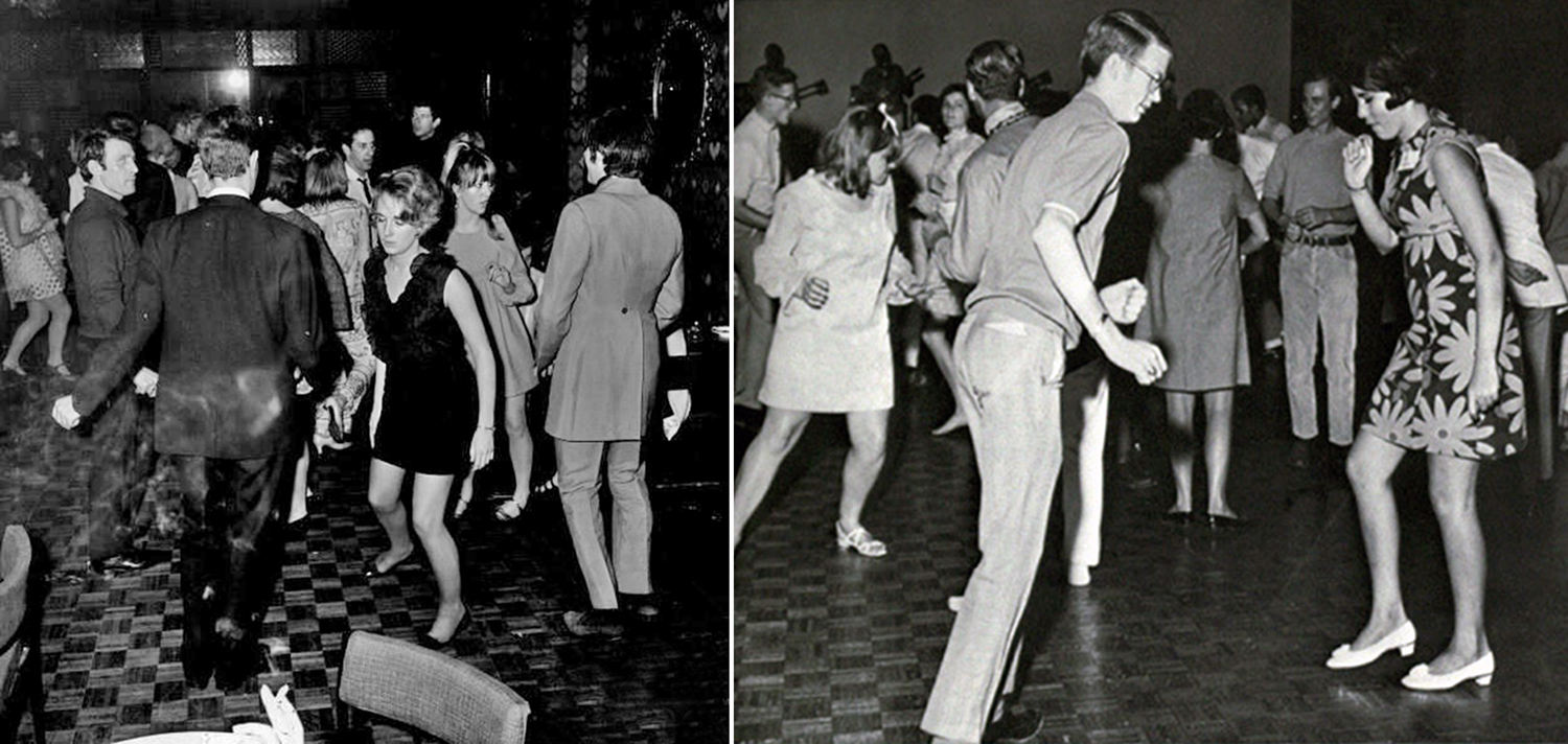 vintage dancing sixties