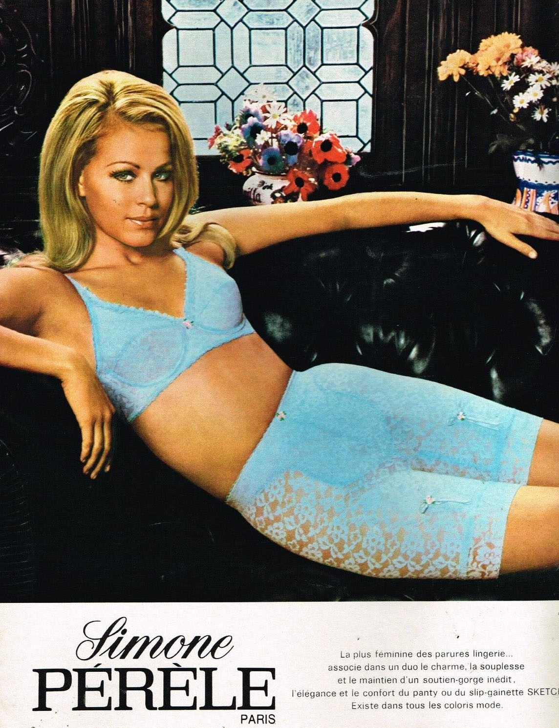 7903df6c7 30 Sexy Swingin  Sixties Undergarment Ads from Around the World ...