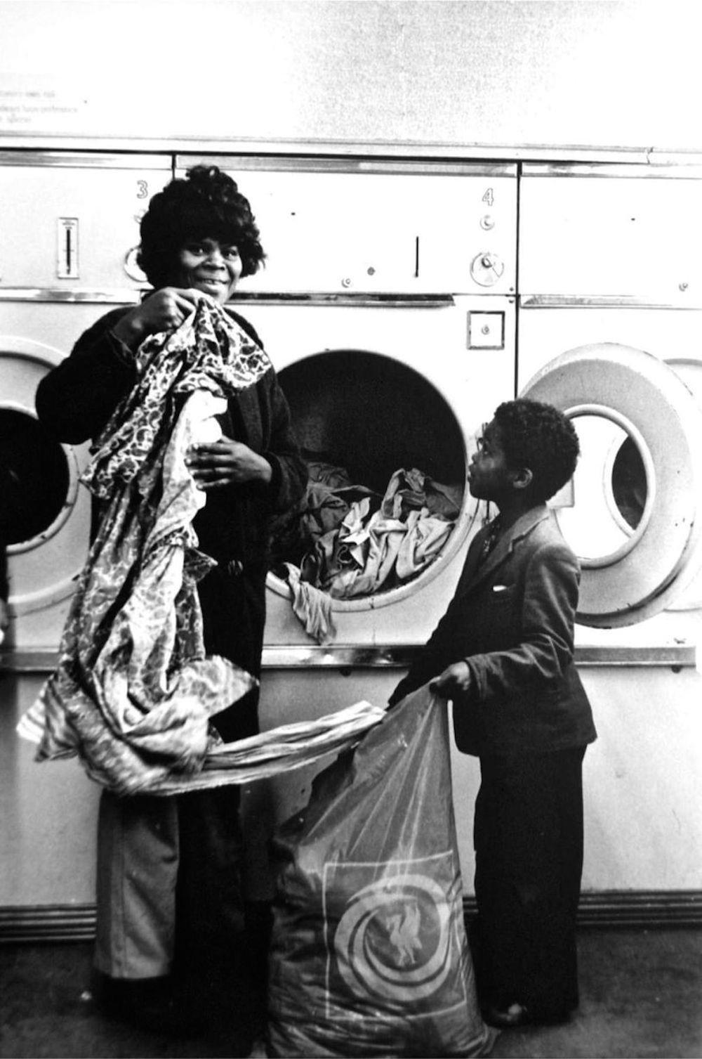 1972 washing, Toxteth, Liverpool