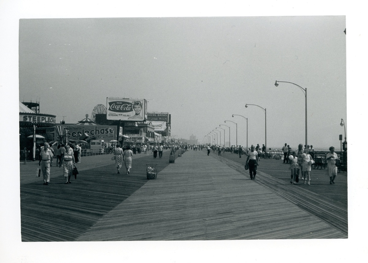 Coney Island 1960s boardwalk