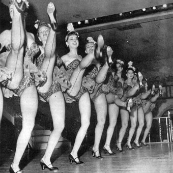 Chorus Line Dancers and Can-Can Girls from the 1920s-1960s