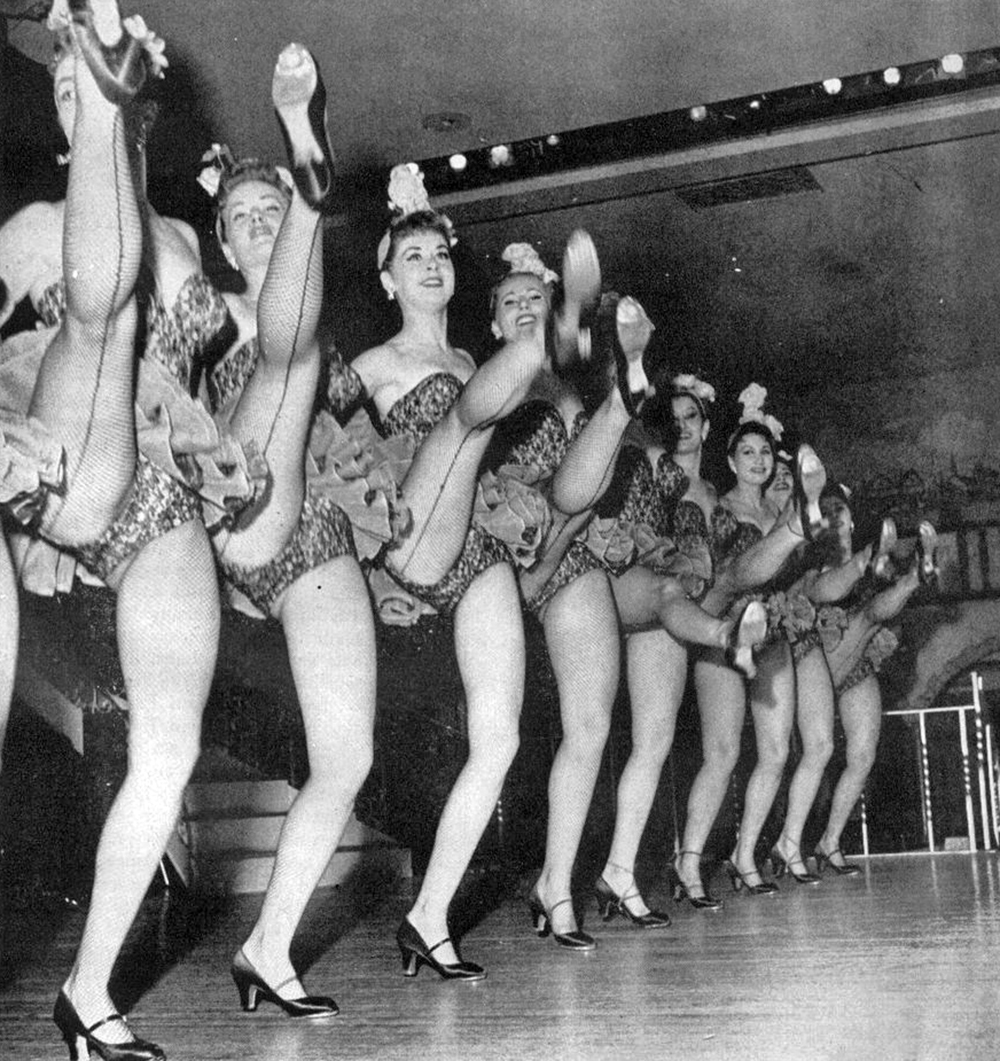 Dancer gaiety nude theater