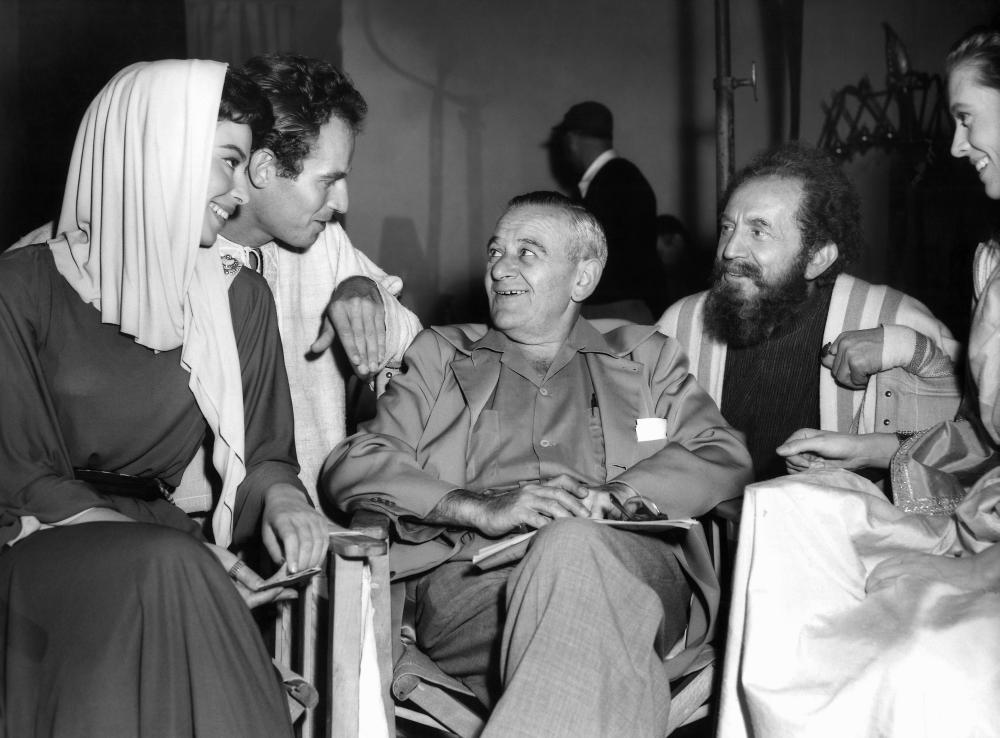 Ben Hur behind the scenes 1959